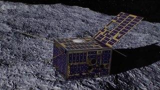 AIM: Asteroid touchdown