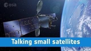 Talking small satellites