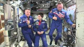 NASA Space Station Crew Discusses Life In Space With The Media