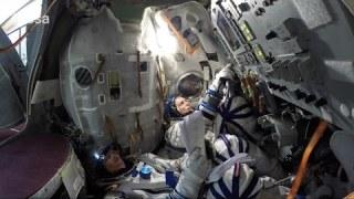 Soyuz training with Gennady Padalka