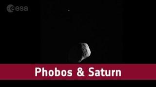 Phobos and Saturn