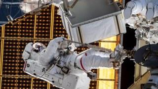 International Space Station Spacewalk, July 1, 2020