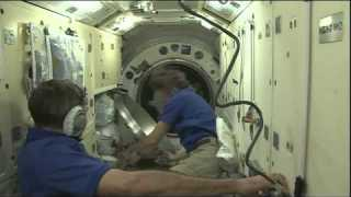 ISS Expedition 43 Farewell, Hatch Closure and Undockingfrom theInternational Space Station