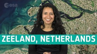 Earth from Space: Zeeland, Netherlands