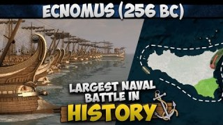 Battle of Ecnomus (256 BC) – Largest Naval Battle in History
