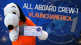 All Aboard Crew-1: Get Your #LaunchAmerica Boarding Pass