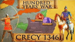 Hundred Years' War: Battle of Crecy 1346 DOCUMENTARY