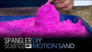DIY Motion Sand – Cool Science Experiment