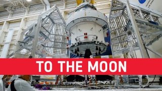 See the European Service Modules taking humankind forward to the Moon