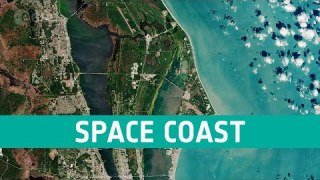 Earth from Space: Space Coast, Florida, USA