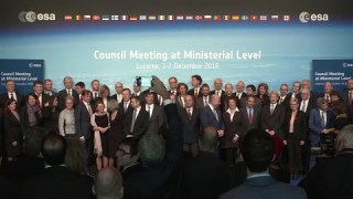 Opening of the ESA Ministerial Council 2016