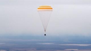Three Space Station Crew Members Return Home Aboard Soyuz Spacecraft