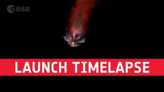 Mission Alpha launch timelapse