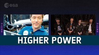Higher Power in space | Thomas Pesquet & Coldplay