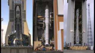 Three launchers at Europe's Spaceport