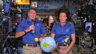 NASA Astronauts Share Teacher Appreciation Week Message From the Space Station