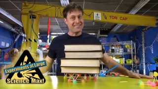 Science Max |BUILD IT YOURSELF |CANDY Geodesic Dome |Structure |EXPERIMENT