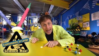 Science Max | BUILD IT YOURSELF | Chemical-Powered ROCKET |EXPERIMENT