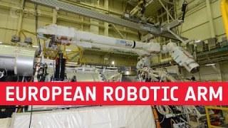 European Robotic Arm ready for space