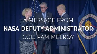 A Message from NASA Deputy Administrator Col. Pam Melroy to the NASA Workforce