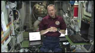 What does a typical working day on the ISS look like?