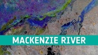Earth from Space: Mackenzie River, Canada