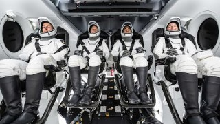 NASA's SpaceX Crew-3 Astronauts Launch to the Space Station