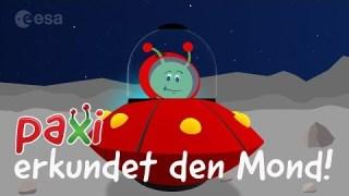 Paxi erkundet den Mond!