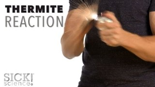 Thermite Reaction – Sick Science! #222
