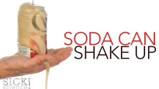 Soda Can Shake Up – Sick Science! #142
