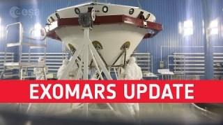 ExoMars progress update