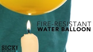 Fire Resistant Water Balloon – Sick Science! #122