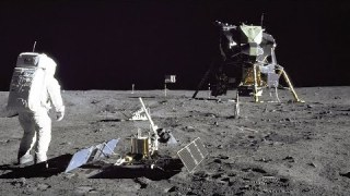 Restored Apollo 11 Moonwalk – Original NASA EVA Mission Video – Walking on the Moon