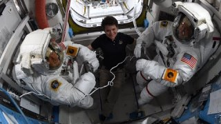 NASA Astronaut Anne McClain Addresses Spacewalk Reassignment
