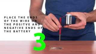 Homemade Magnet – Sick Science! #035