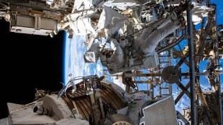 Alpha Magnetic Spectrometer Repair Spacewalk #2, Nov. 22, 2019
