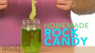 Homemade Rock Candy – Sick Science! #188