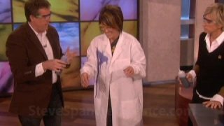 Steve Spangler on the Ellen Show September 2008