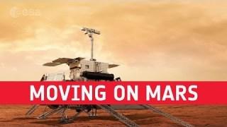 ExoMars – Moving on Mars