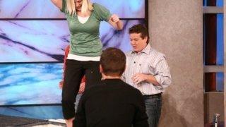 Cornstarch Walk on Water – Spangler on The Ellen Show