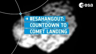 ESAHangout: Rosetta science and countdown to comet landing