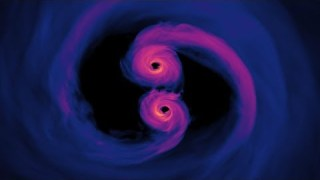 Supercomputer Simulation Reveals Supermassive Black Holes
