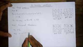 8 puzzle  | 8 puzzle Problem In Artificial Intelligence[Bangla Tutorial]