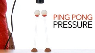 Ping Pong Pressure – Sick Science! #151