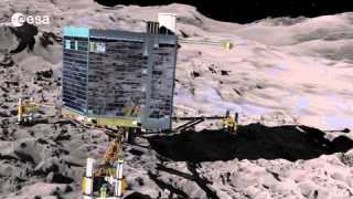 """Philae's journey"" by Vangelis"