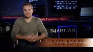 'The Martian' Star Matt Damon Discusses NASA's Journey to Mars