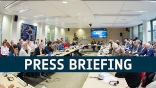 ESA Director General's press briefing