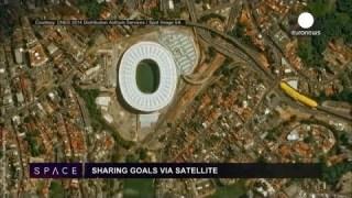 ESA Euronews: Partilhando golos via satélite