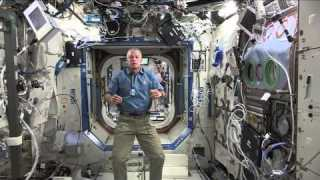 NASA astronaut discusses life in space