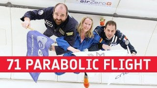 ESA's 71st parabolic flight campaign experiments